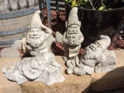 Volcanic Stone Garden Gnome